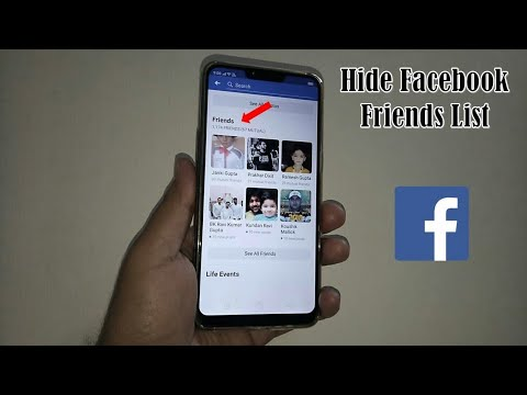 Hide Your Friends List on Facebook