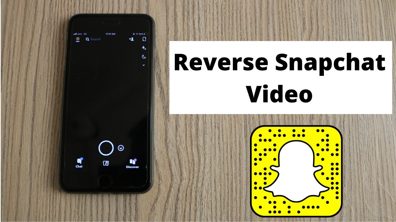 How to Reverse Snapchat using a Free and Built-In Filter?